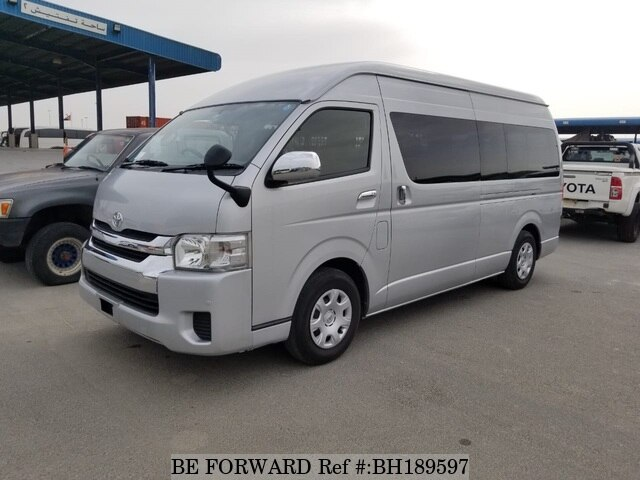 Used 2014 TOYOTA HIACE COMMUTER BH189597 for Sale