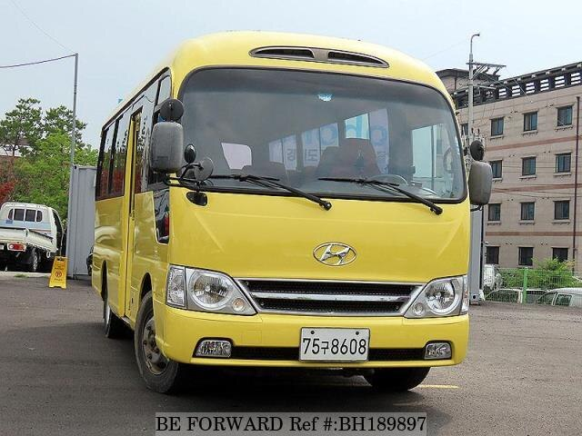 Used 2010 HYUNDAI COUNTY BH189897 for Sale