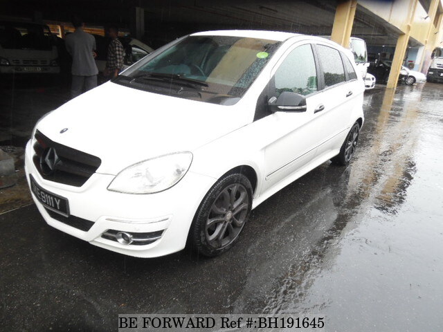 Used 2009 MERCEDES-BENZ B-CLASS BH191645 for Sale