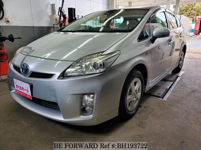 Used 2009 TOYOTA PRIUS BH193722 for Sale