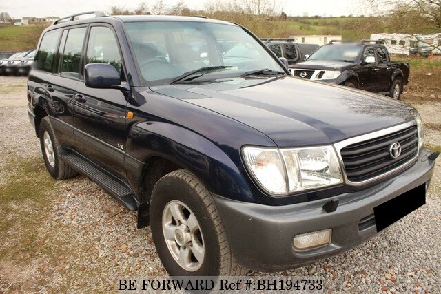 Used 2001 TOYOTA LAND CRUISER AMAZON BH194733 for Sale