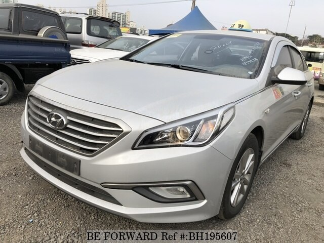 Used 2015 HYUNDAI SONATA BH195607 for Sale