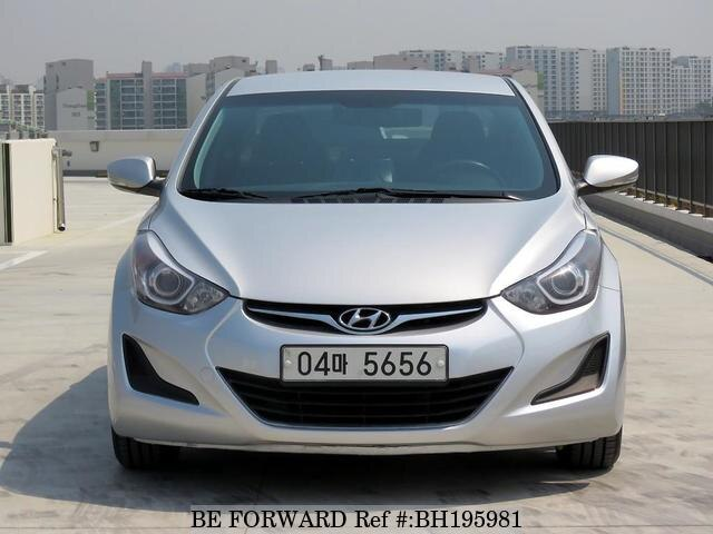 Used 2014 HYUNDAI AVANTE (ELANTRA) BH195981 for Sale