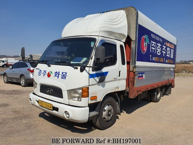 Used 2005 HYUNDAI MIGHTY BH197001 for Sale
