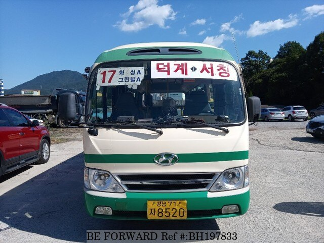 Used 2008 HYUNDAI COUNTY BH197833 for Sale