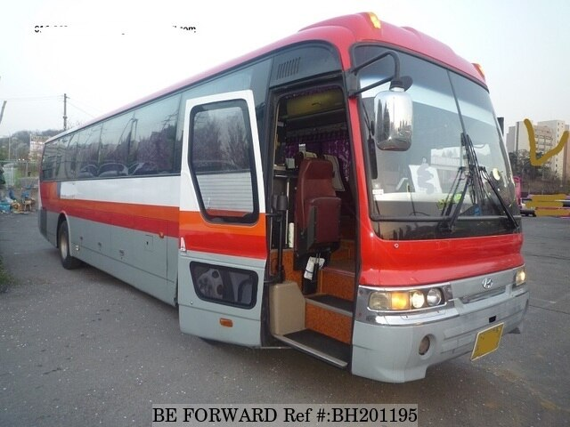 Used 2006 HYUNDAI AERO SPACE BH201195 for Sale