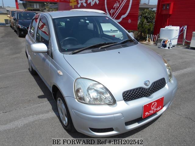 Used 2004 TOYOTA VITZ BH202542 for Sale