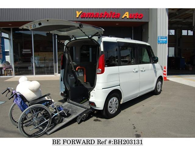 Used 2015 SUZUKI SPACIA BH203131 for Sale