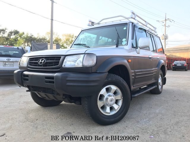 Used 1999 HYUNDAI GALLOPER BH209087 for Sale