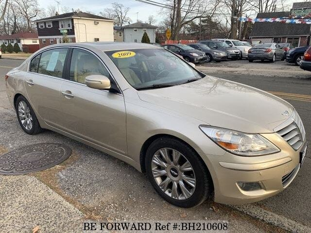 Used 2009 HYUNDAI GENESIS BH210608 for Sale