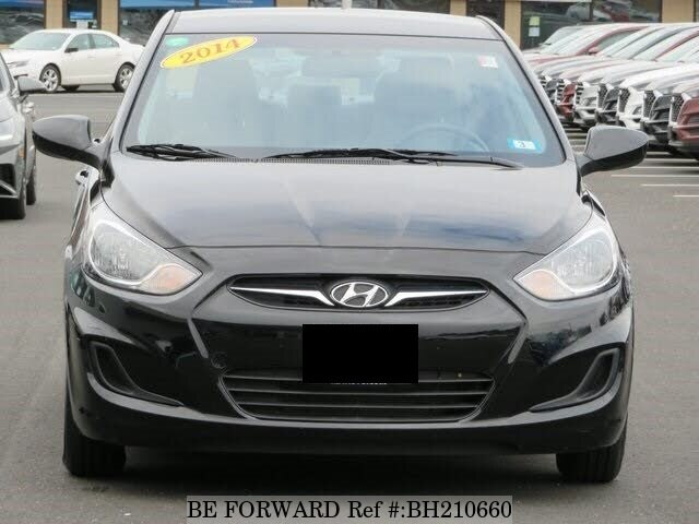 Used 2014 HYUNDAI ACCENT BH210660 for Sale