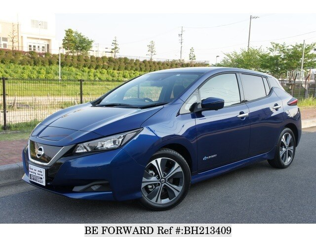 Used 2020 NISSAN LEAF BH213409 for Sale