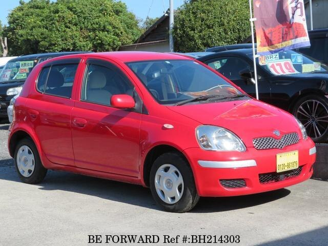 Used 2004 TOYOTA VITZ BH214303 for Sale