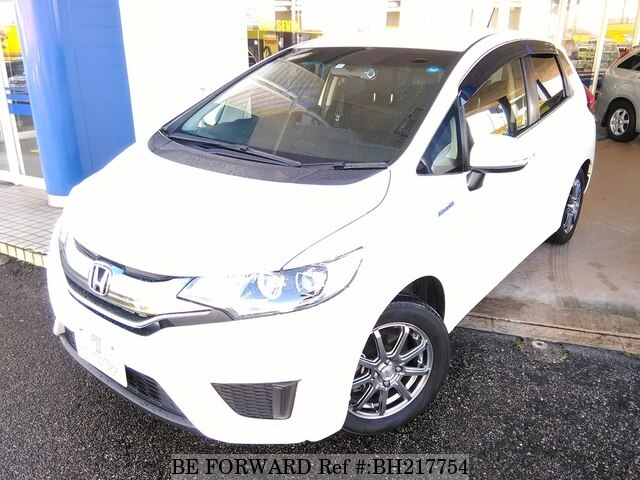 Used 2014 HONDA FIT HYBRID BH217754 for Sale