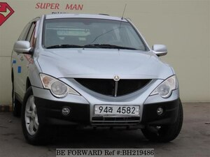 Used 2006 SSANGYONG ACTYON BH219486 for Sale