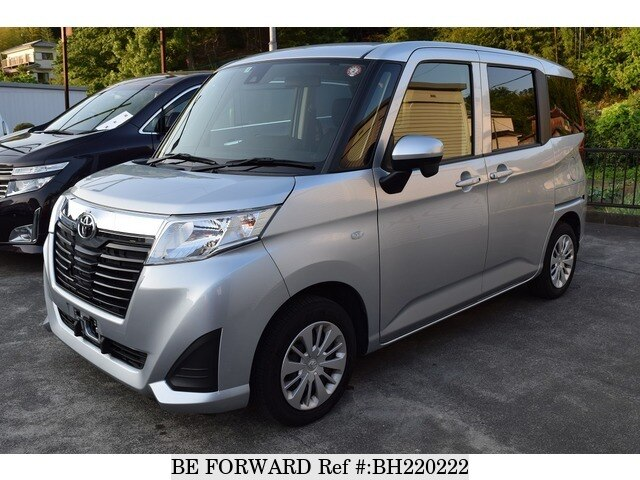 Used 2017 TOYOTA ROOMY BH220222 for Sale