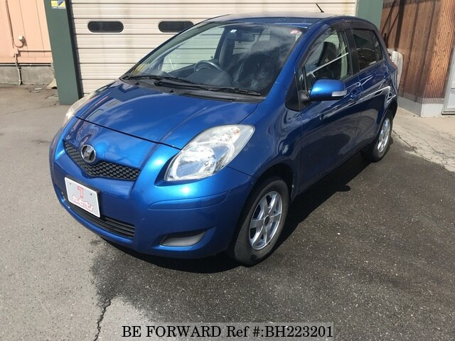 Used 2008 TOYOTA VITZ BH223201 for Sale