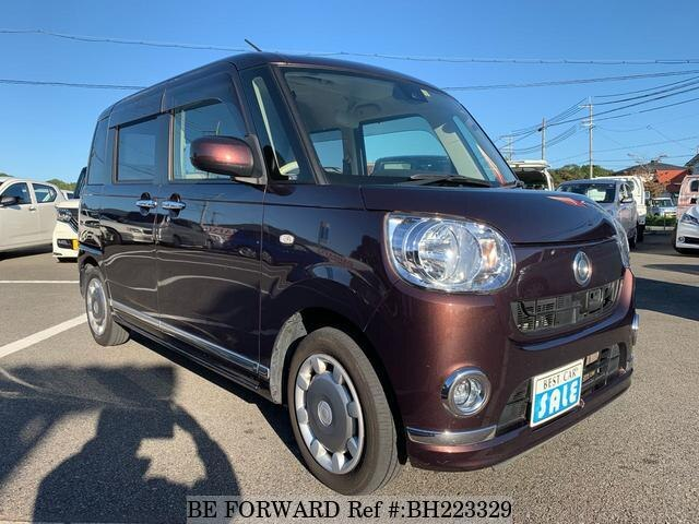 Used 2017 DAIHATSU MOVE CANBUS BH223329 for Sale