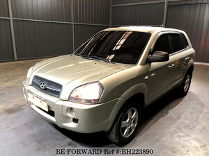 Used 2004 HYUNDAI TUCSON BH223890 for Sale