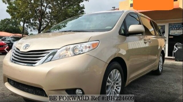 Used 2013 TOYOTA SIENNA BH224609 for Sale