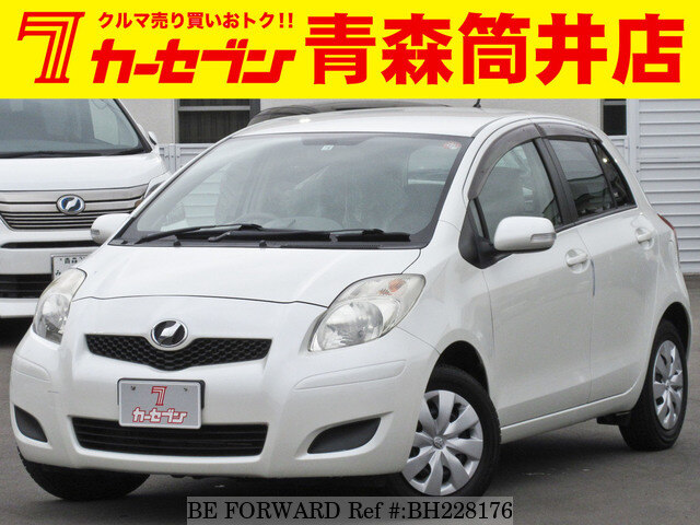 Used 2010 TOYOTA VITZ BH228176 for Sale