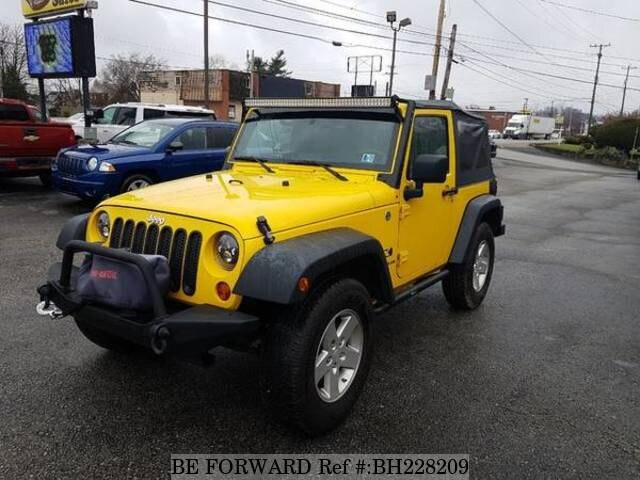 Used 2008 JEEP WRANGLER BH228209 for Sale