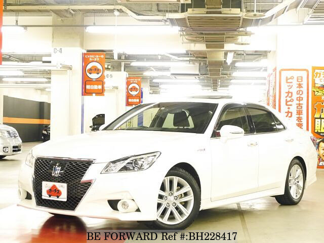 Used 2014 TOYOTA CROWN HYBRID BH228417 for Sale