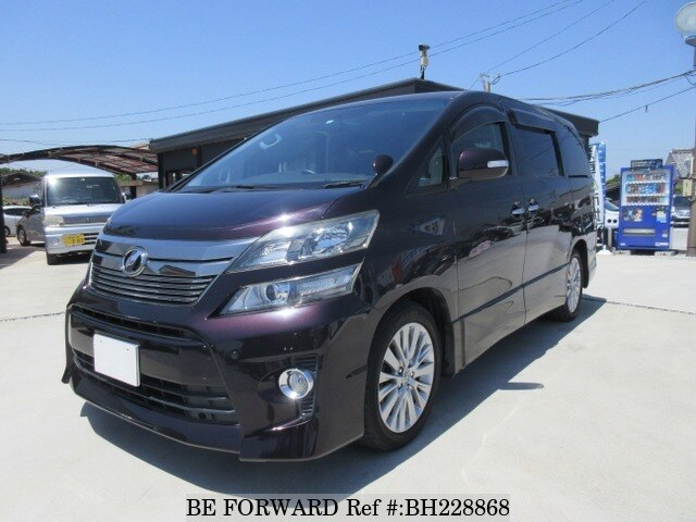 Used 2012 TOYOTA VELLFIRE BH228868 for Sale