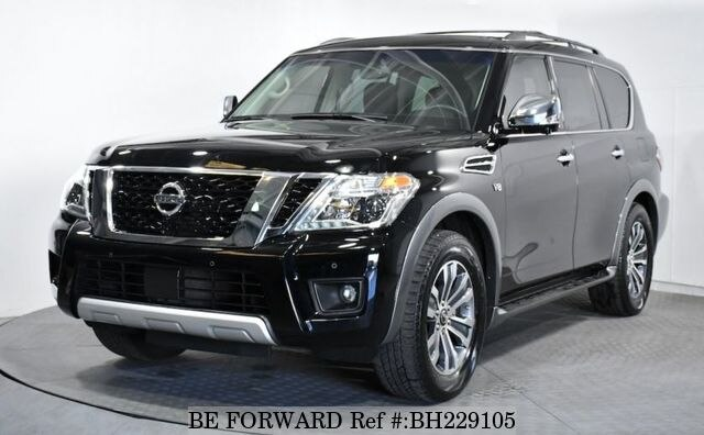 Used 2017 NISSAN ARMADA BH229105 for Sale
