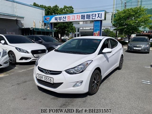 Used 2012 HYUNDAI AVANTE (ELANTRA) BH231557 for Sale