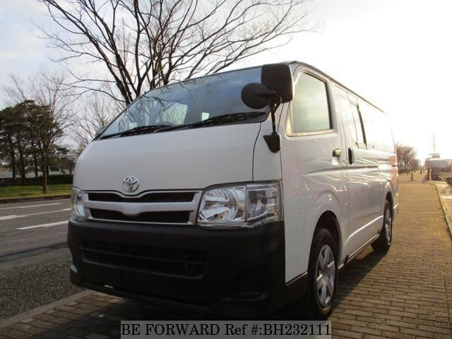 Used 2013 TOYOTA HIACE VAN BH232111 for Sale