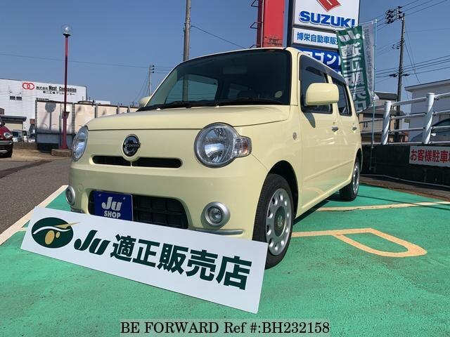 Used 2010 DAIHATSU MIRA COCOA BH232158 for Sale