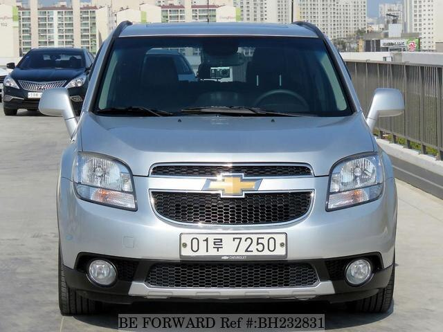 Used 2012 CHEVROLET ORLANDO BH232831 for Sale