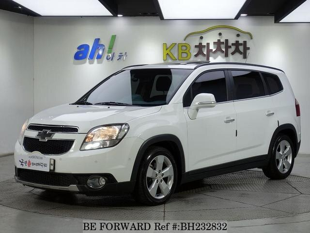Used 2014 CHEVROLET ORLANDO BH232832 for Sale