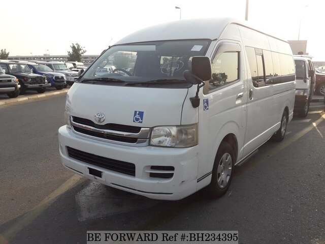 Used 2008 TOYOTA HIACE VAN BH234395 for Sale