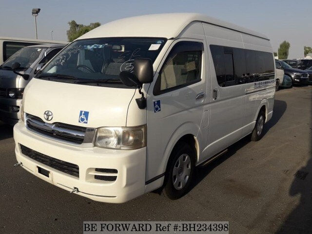 Used 2007 TOYOTA HIACE VAN BH234398 for Sale