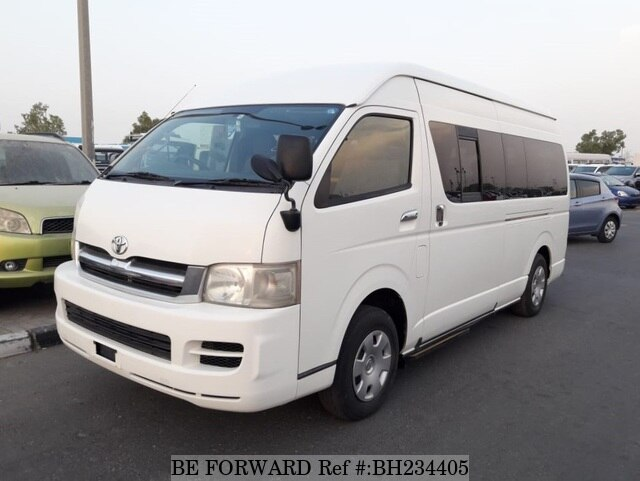 Used 2005 TOYOTA HIACE VAN BH234405 for Sale