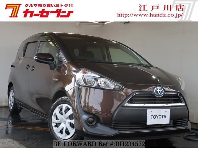 Used 2017 TOYOTA SIENTA BH234572 for Sale