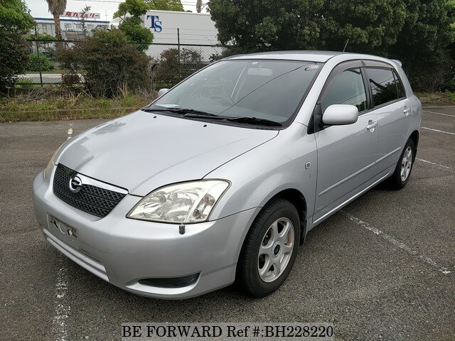 Used 2004 TOYOTA COROLLA RUNX BH228220 for Sale