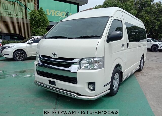 Used 2016 TOYOTA HIACE COMMUTER BH230853 for Sale