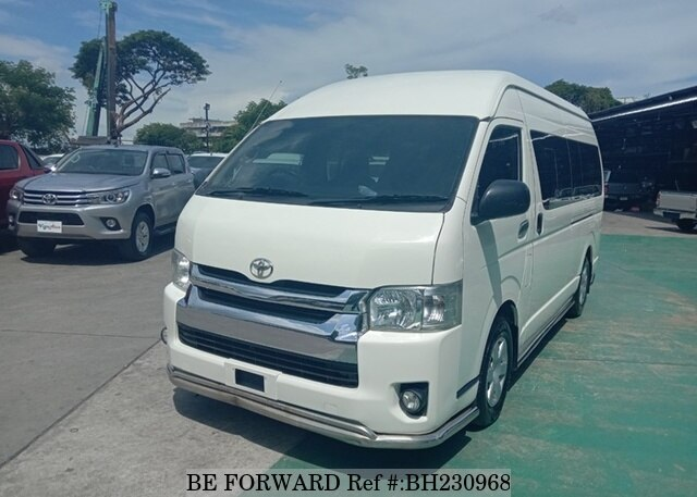 Used 2016 TOYOTA HIACE COMMUTER BH230968 for Sale