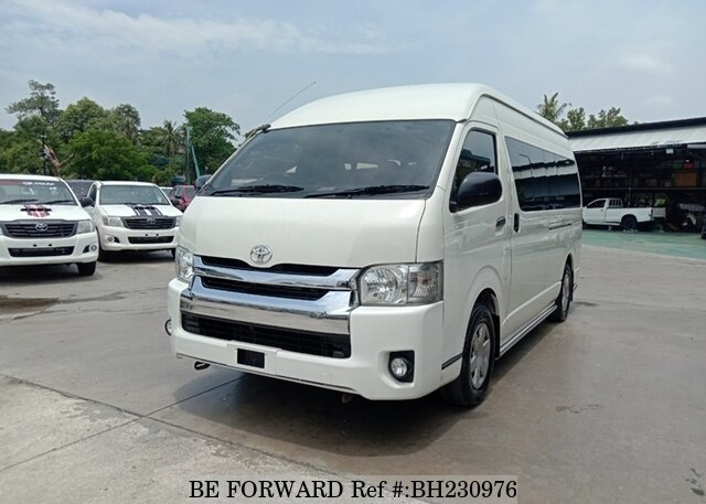 Used 2016 TOYOTA HIACE COMMUTER BH230976 for Sale
