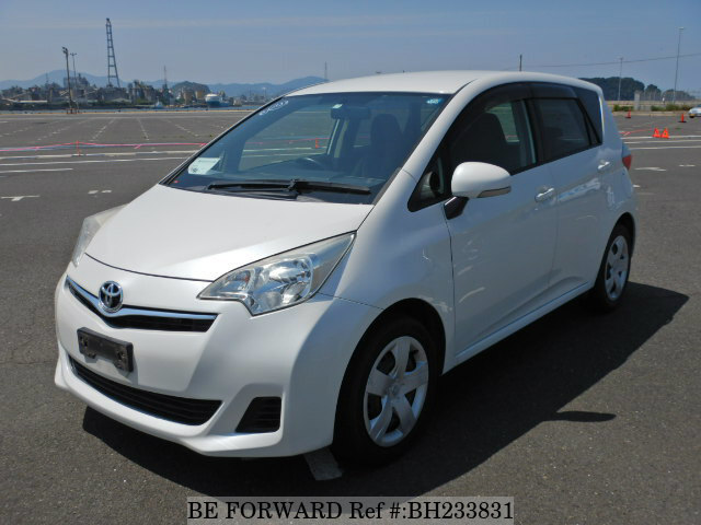 Used 2011 TOYOTA RACTIS BH233831 for Sale