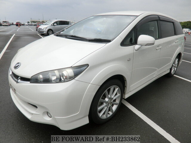 Used 2009 TOYOTA WISH BH233862 for Sale