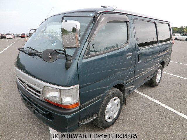 Used 2003 TOYOTA HIACE VAN BH234265 for Sale
