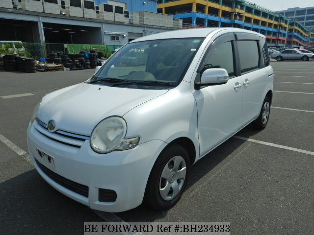 Used 2008 TOYOTA SIENTA BH234933 for Sale