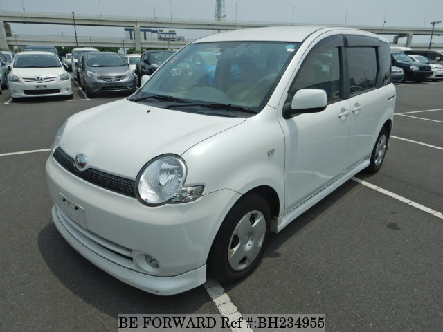 Used 2003 TOYOTA SIENTA BH234955 for Sale