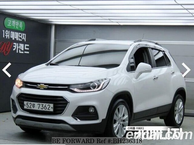 Used 2018 CHEVROLET TRAX BH236318 for Sale