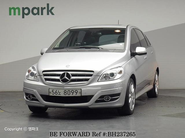 Used 2009 MERCEDES-BENZ B-CLASS BH237265 for Sale
