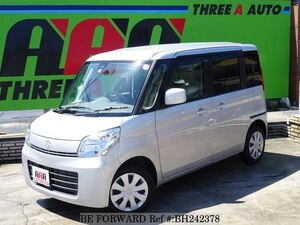 Used 2014 SUZUKI SPACIA BH242378 for Sale